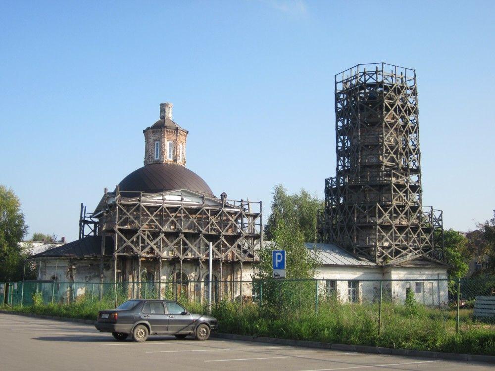 Храм священномученика Антипы г. Вологды