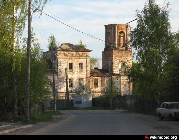 Храм святителя Николая «Золотые кресты» г. Вологды