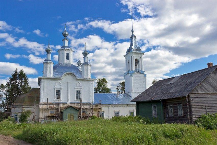 Храм святителя Николая д. Ламаниха