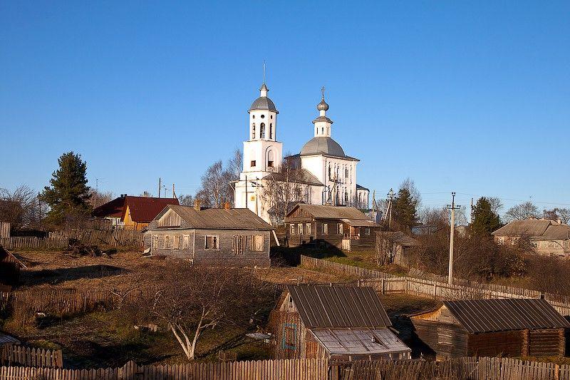 Храм Святой Троицы с. Кубенское