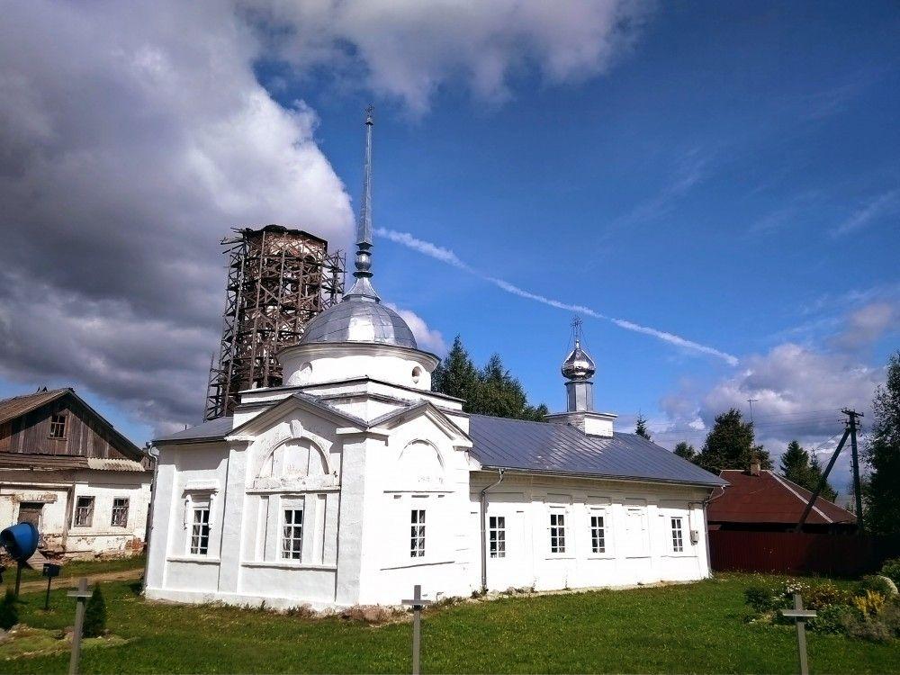 Храм преподобного Мартиниана Белозерского д. Березник
