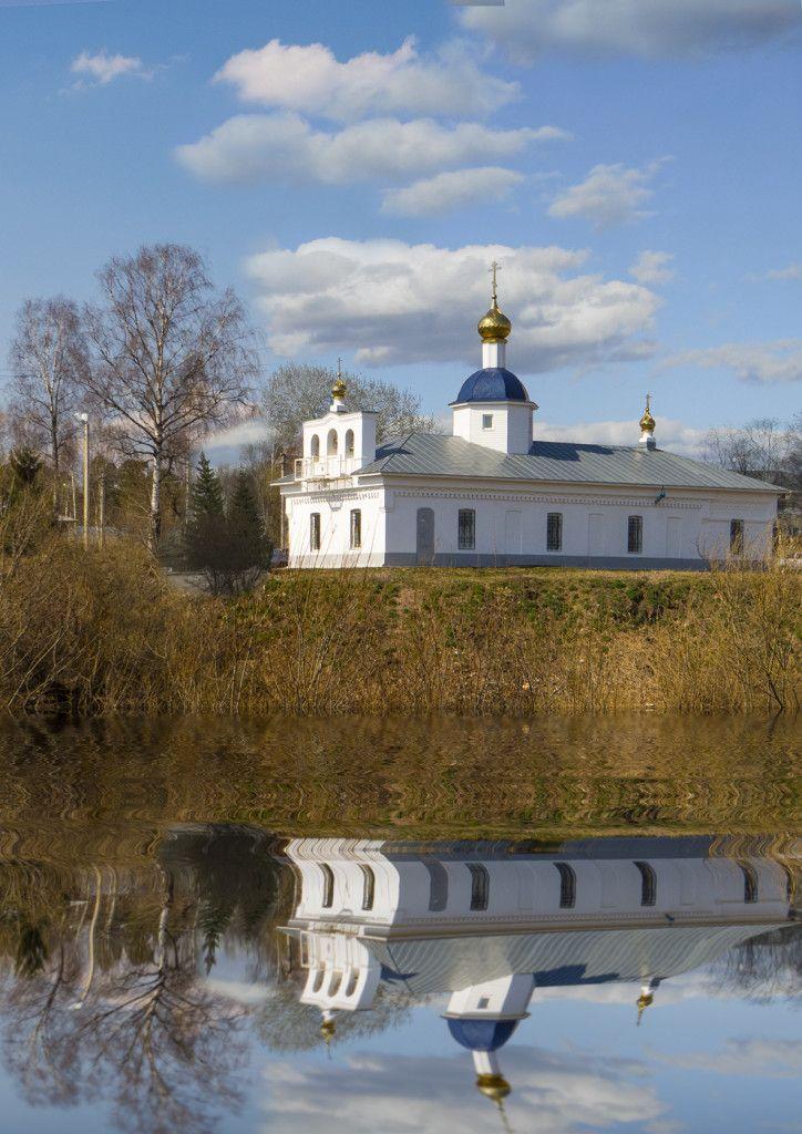 Храм святителя Николая Чудотворца п. Кувшиново