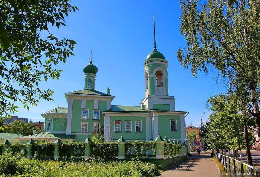 Архиерейское подворье храма святителя Николая на Глинках г. Вологды