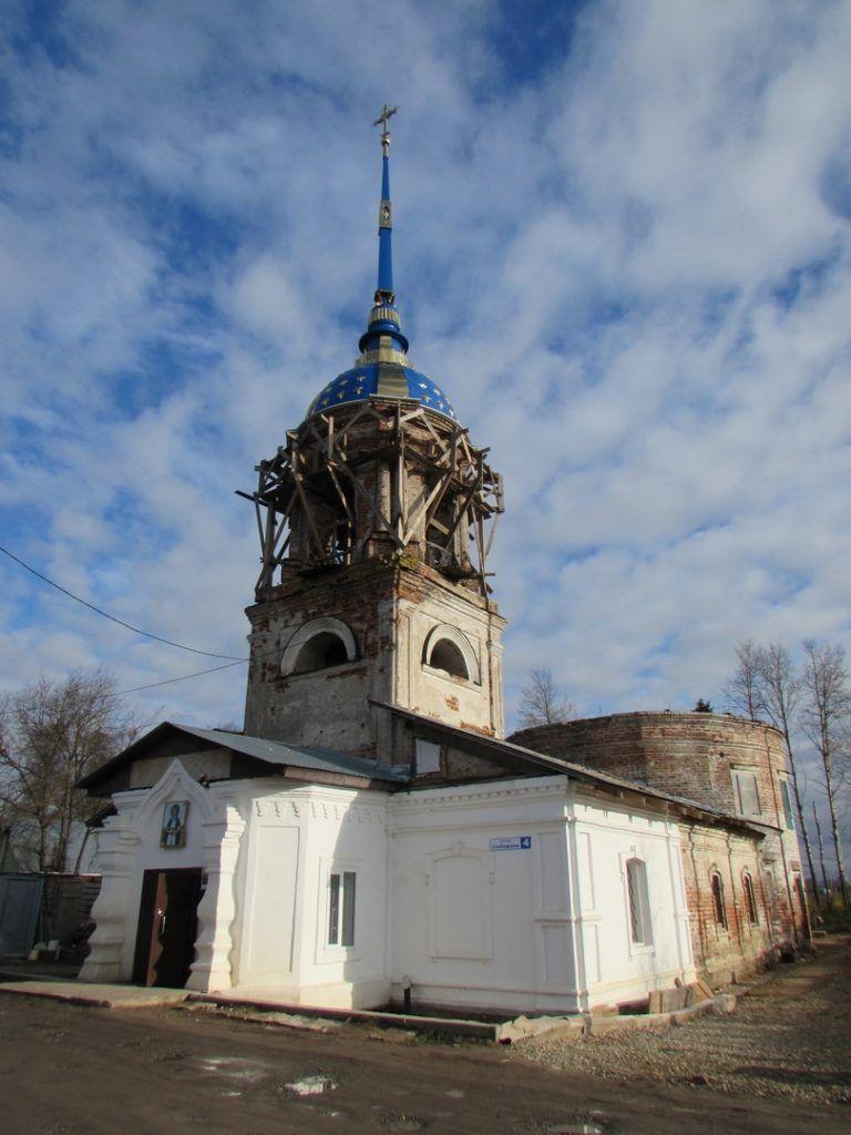 Храм Покрова Пресвятой Богородицы в Кирилловской Ямской слободе г. Вологды
