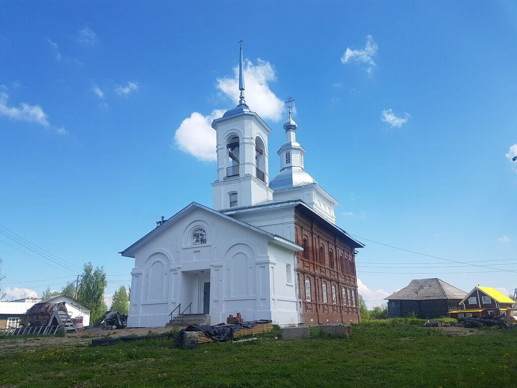 Храм Архангела Михаила п. Новленское