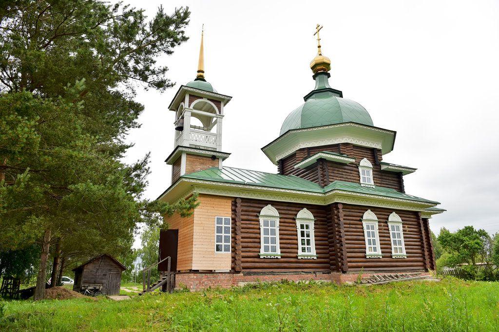 Храм иконы Божией Матери «Семистрельная» п. Ермаково