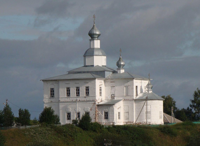 Церковь Покрова Пресвятой Богородицы в Кулое д. Урусовская