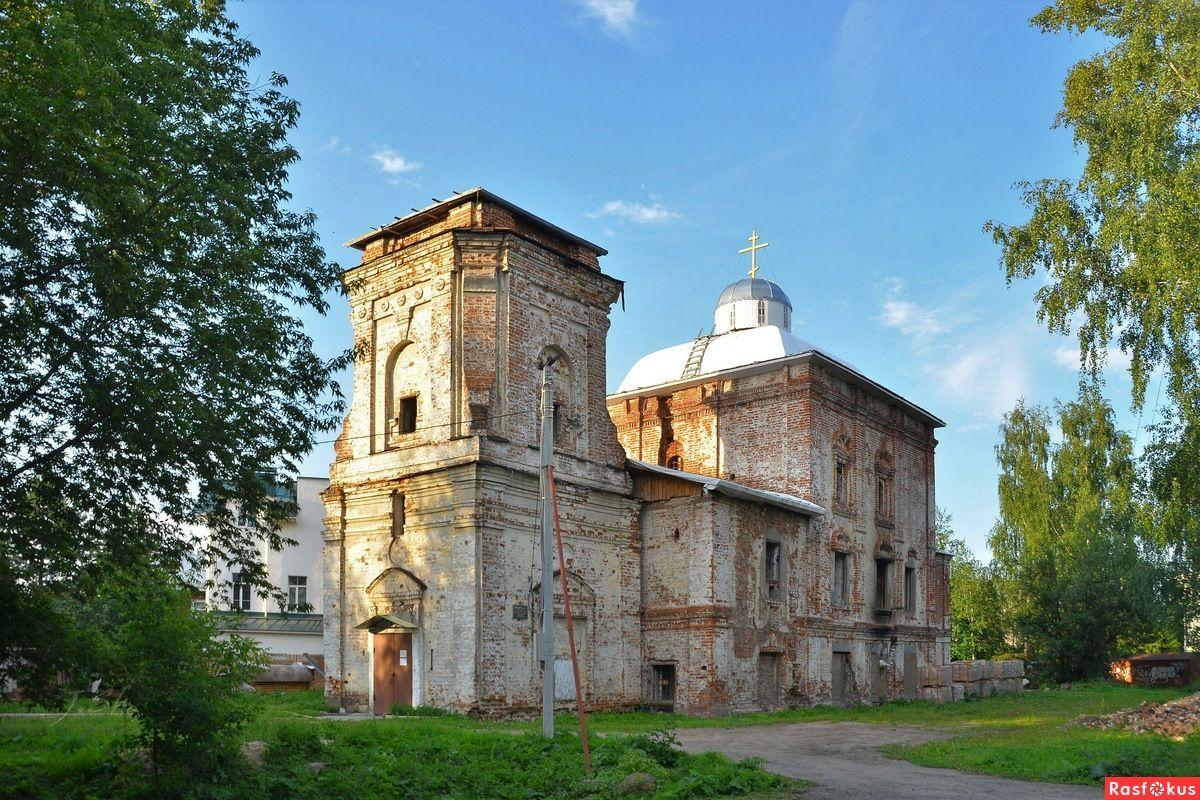 Храм апостола и евангелиста Иоанна Богослова г. Вологды