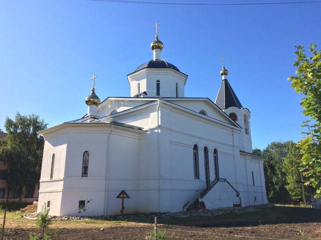 Храм Преображения Господня с. Куркино