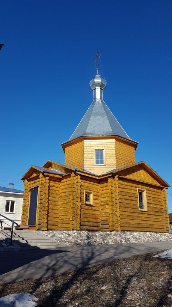 Храм Казанской иконы Божией Матери п. Сосновка