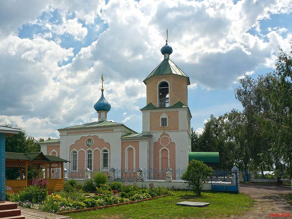Храм Святого Духа с. Архангельское