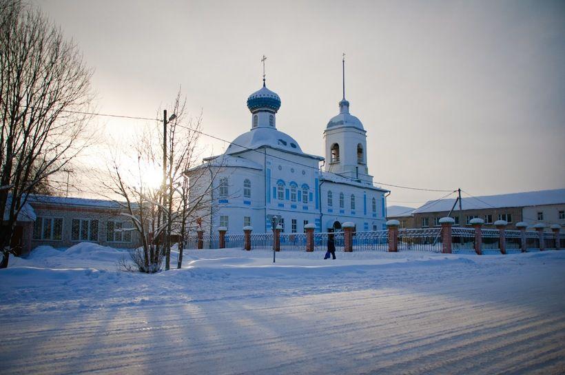 Храм Святителя Николая с. Сизьма