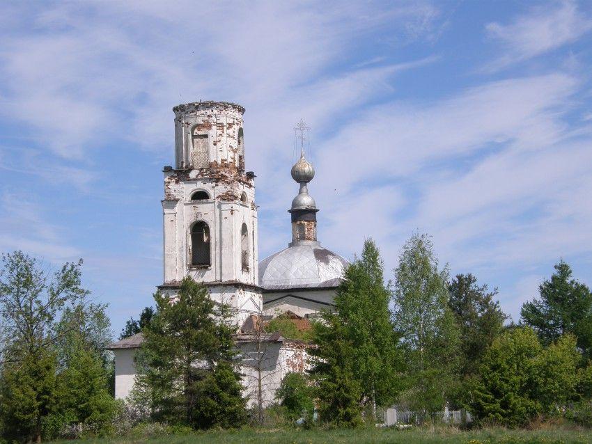 Храм Вознесения Господня д. Славянка