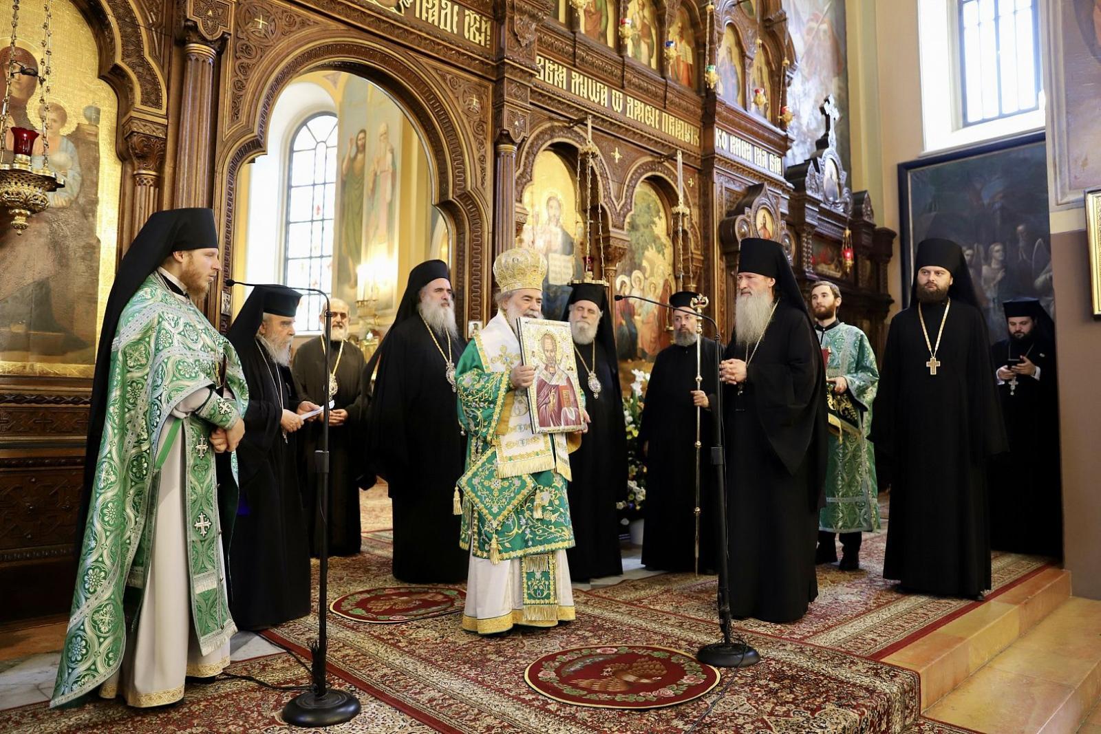 В День Святого Духа в Иерусалиме отметили главный праздник Русской духовной миссии