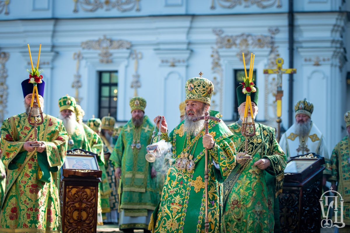 Митрополит Савва сослужил митрополиту Киевскому и всея Украины Онуфрию на Литургии в Свято-Успенской Киево-Печерской Лавре