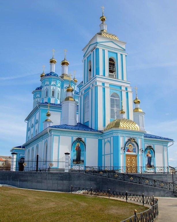 Храм Казанского Образа Божией Матери рп. Шексна