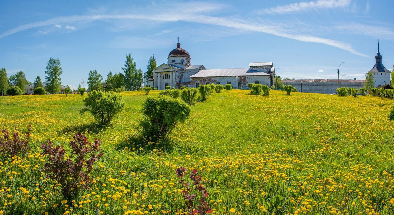 Храм Казанской иконы Божией Матери г. Кириллов