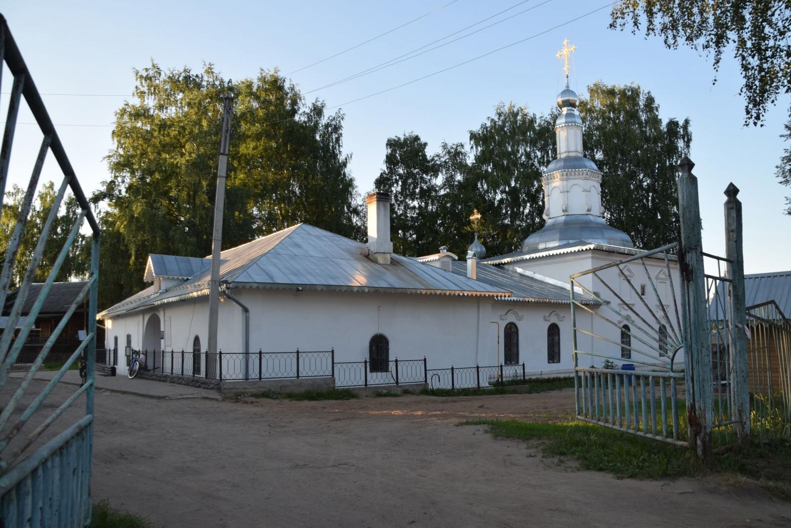 На приходе Георгиевского храма города Великого Устюга прошла беседа о духовной жизни христианина