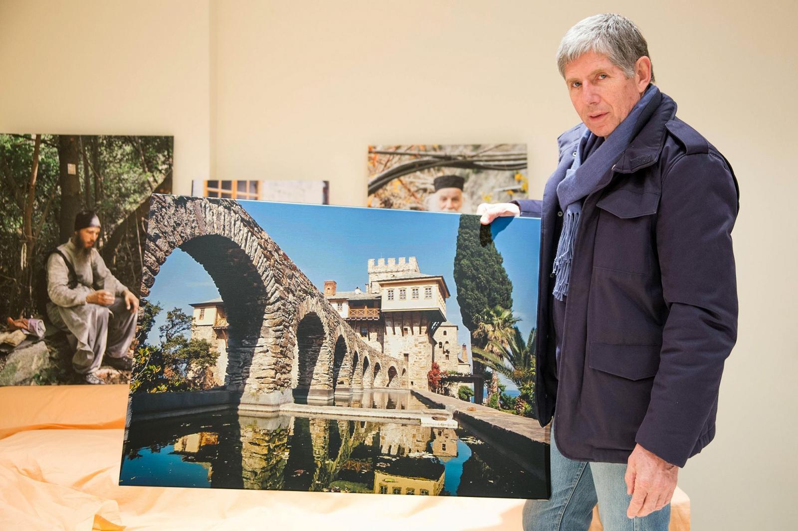 В Череповце состоялось открытие выставки «Наш Афон»