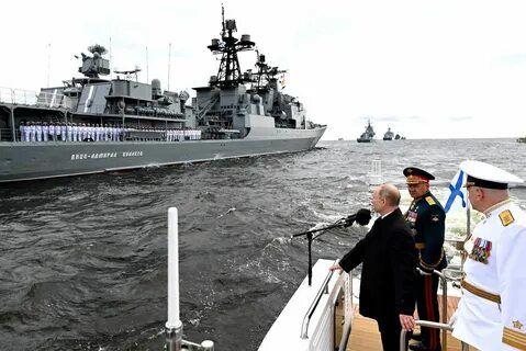 Представители Русской Православной Церкви посетили главный военно-морской парад, посвященный 325-летию ВМФ России