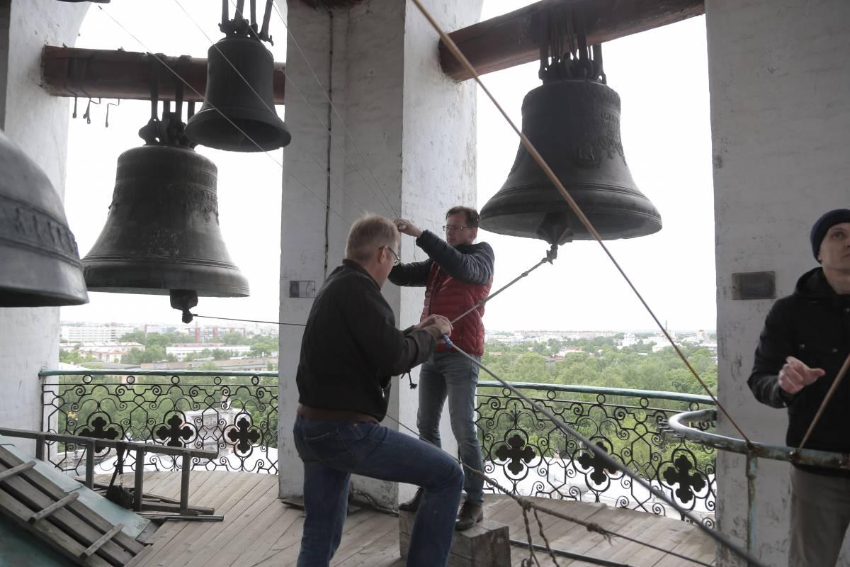 Колокольным звоном храмов в Вологодской митрополии отметили день празднования Крещения Руси