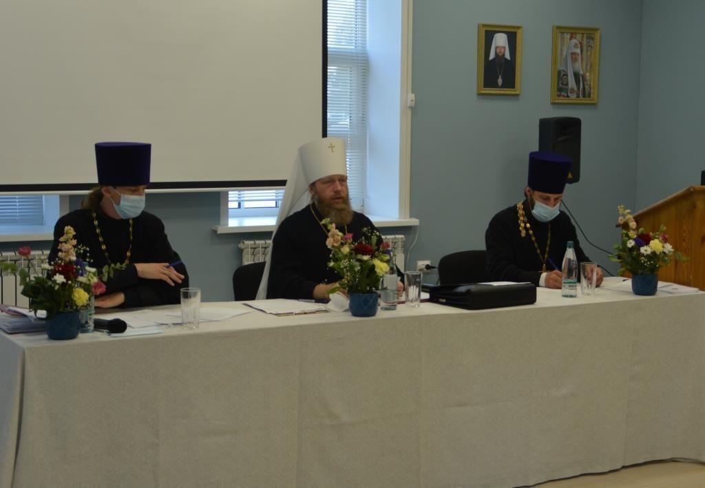 В Великом Устюге прошло собрание духовенства Великоустюжской епархии