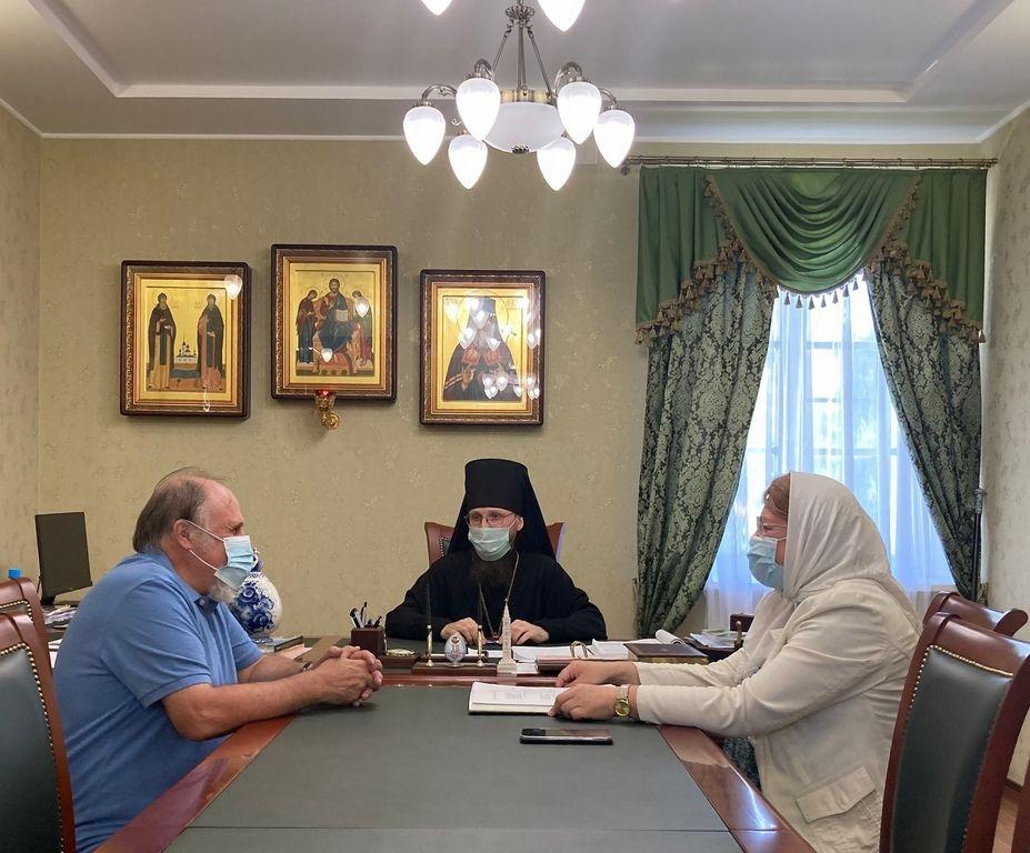 Состоялась рабочая встреча епископа Игнатия с представителями Череповецкого государственного университета
