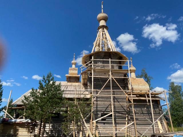 Прихожане Лазаревского храма помогают в восстановлении Дионисиево-Глушицкого монастыря