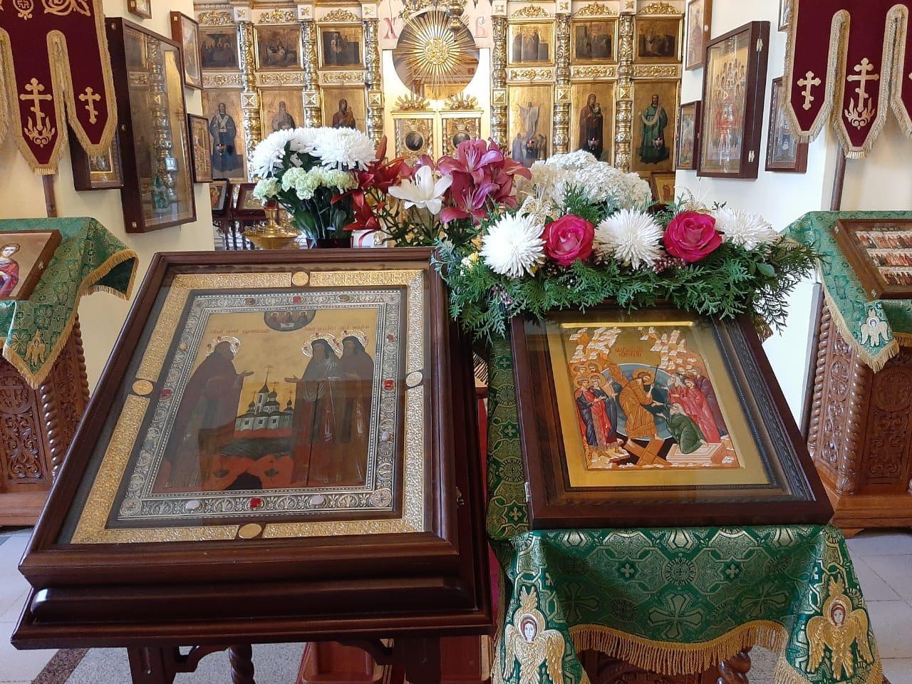 Епископ Игнатий совершил всенощное бдение в Воскресенском соборе города Череповца