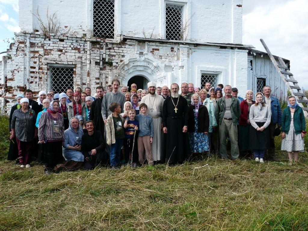 В поселке Полдарса отметили день памяти преподобномученика Симона Воломского