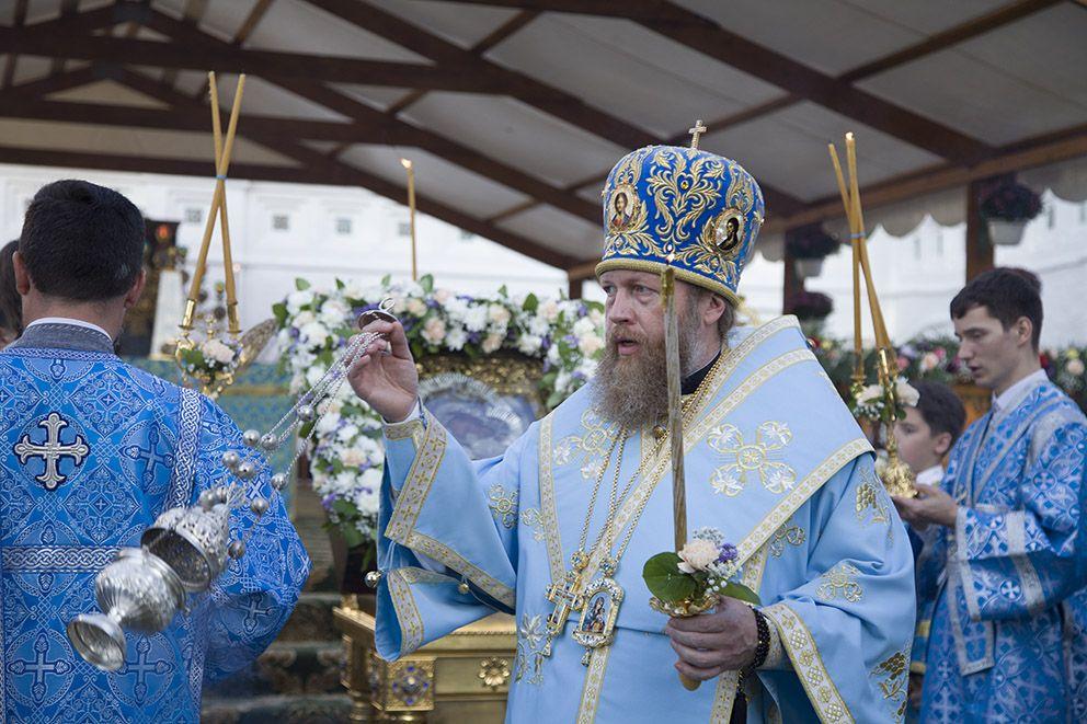 Митрополит Савва принимает участие в торжествах по случаю празднования Толгской иконы Божией Матери