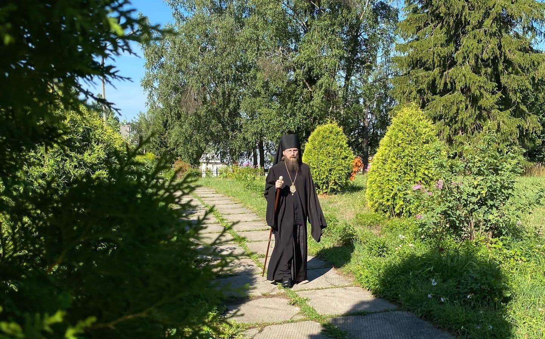 В храме Илии Пророка села Абаканово состоялось богослужение архиерейским чином