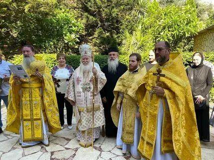 На подворье Русской духовной миссии в Магдале отметили престольный праздник