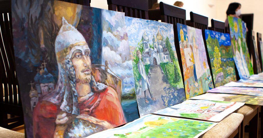 Идет прием работ на региональный этап XVII Международного конкурса детского творчества «Красота Божьего мира»