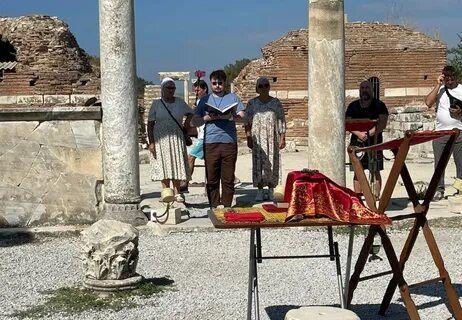 В день воспоминания III Вселенского Собора совершена Литургия в храме Пресвятой Богородицы в Эфесе
