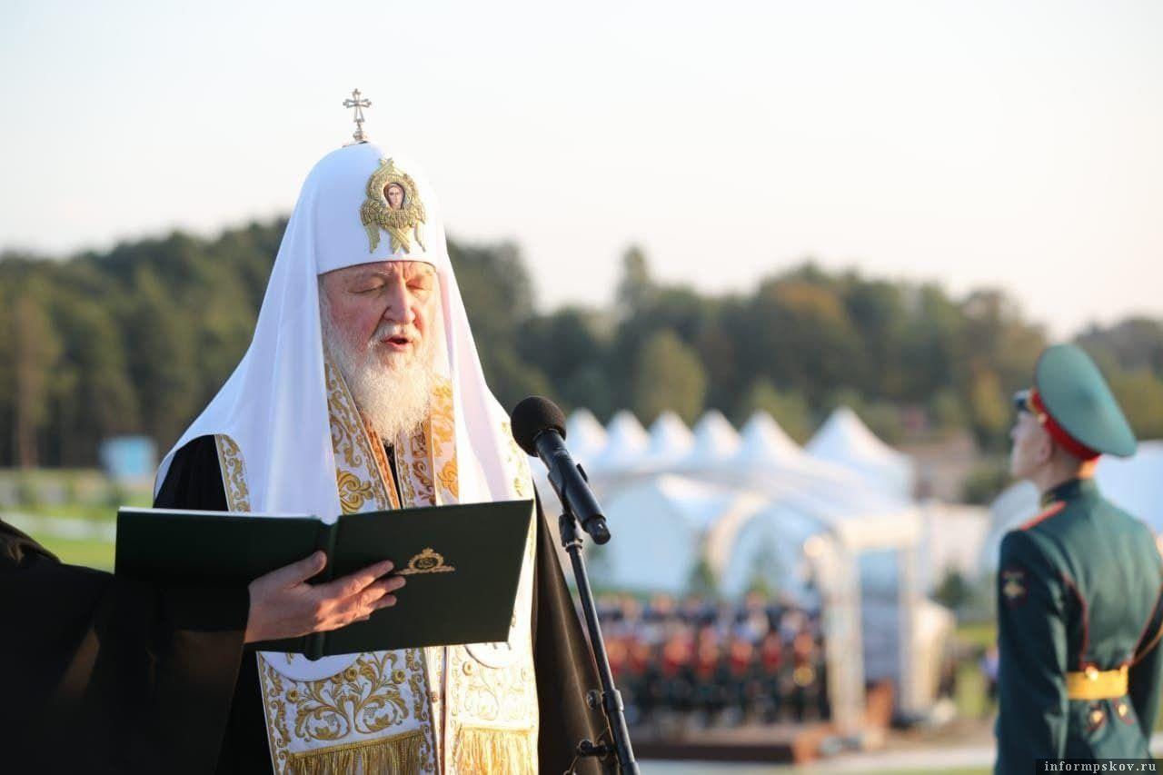 Святейший Патриарх Кирилл: Событие, свидетелями которого мы являемся, имеет большое духовное значение