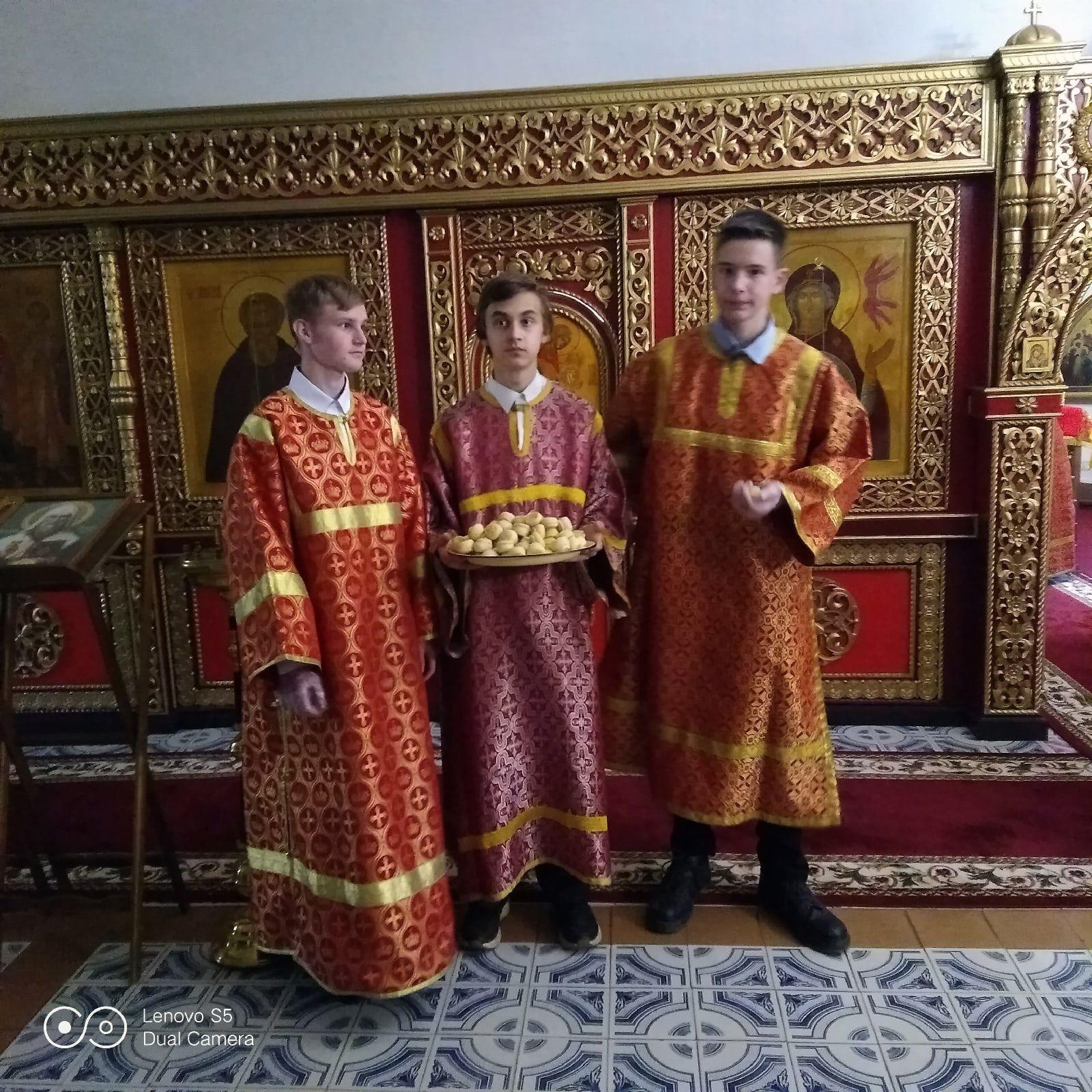В Андреевском храме Вологды состоялась миссионерская Литургия