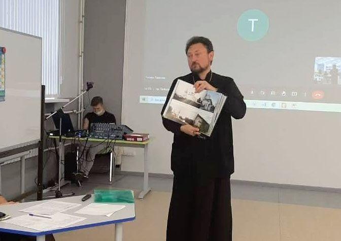 Протоиерей Алексий Сорокин выступил с докладом на Всероссийской научной конференции по исследованию Русского Севера