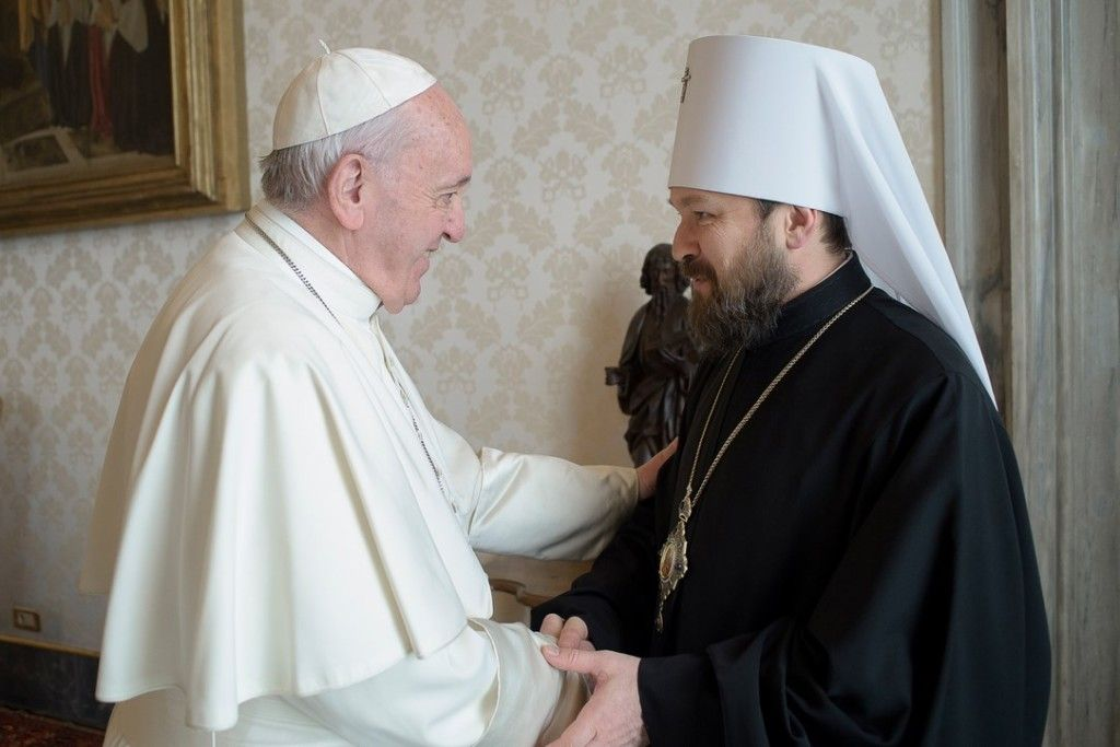 Состоялась встреча председателя ОВЦС с Папой Римским Франциском